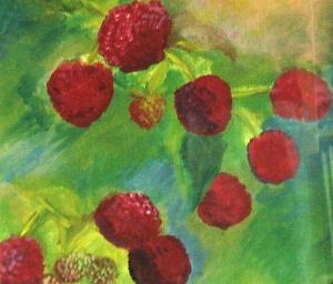 Anna Sherington – Acrylic on Paper