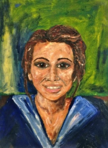 Attracta Fahy - Oil on Canvas