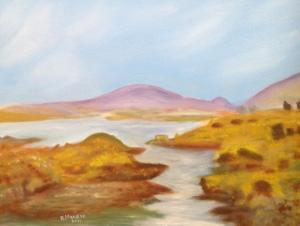 Bridie Mulroe – Oil on Canvas