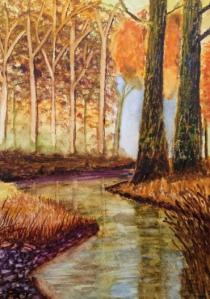 Kathleen Thornton – Watercolour on Paper