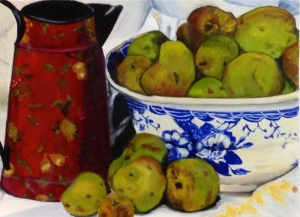 Liz O'Connell – Oil on Canvas