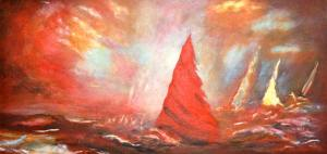 Nancy Mc Knight – Acrylic on Canvas