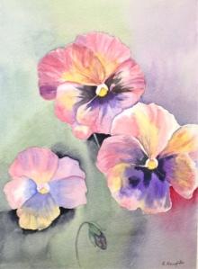 Roisin Naughton – Watercolour on Paper