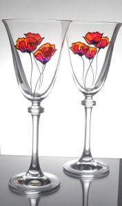 10. Poppy Goblets