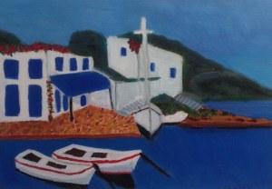 Fringe Mon Olive Mills painting
