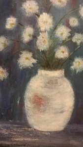 Fringe Thurs pm Geraldine Noone painting