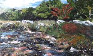 Fringe Thurs pm Orlaith Keane painting