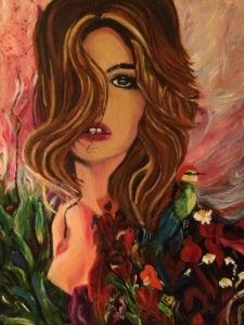 Fringe Wed Anne Snowden painting