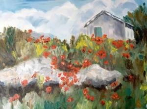 Fringe Wed Maura Roe painting